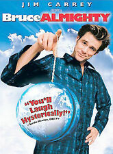 Bruce Almighty (DVD, 2003, Widescreen) Jim Carrey Tom Shadyac Comedy PG13 102MIN