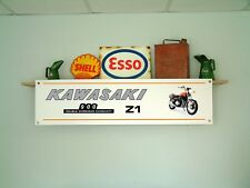Kawasaki Z1 BANNER Motorcycle Show Workshop Display