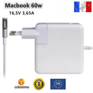 """Chargeur Pour Macbook Pro 13"""" Magsafe1 60W adaptateur ordinateur A1278 1344"""