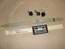 75 1975 Cadillac Sedan Deville HOOD HINGE RETAINER MOUNTING BRACKET with BOLTS