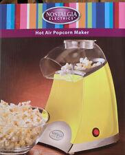 Nostalgia Elec Hot Air Popcorn Maker Portable Tabletop Healthy New