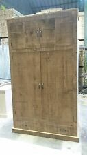 BRAND NEW SOLID WOOD RUSTIC CHUNKY PLANK WARDROBE WITH TOPBOX MADE TO MEASURE