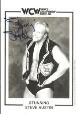 Stunning Steve Austin rare autograph WCW 1994 signed 8x11 photo Beckett coa bas