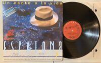 Carlos Vives - Un Canto A La Vida Escalona LP 1991 Sony Colombia Vallenato VG+