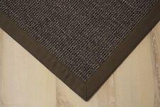 Sisal Teppich Manaus mit Bordüre kaffee 200x250 cm 100% Sisal braun