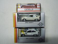 3 rare Opel Kadett E GSi Limousine Modelle von Gama in 1:43 neu, OVP