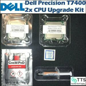 DELL Precision T7400 Eight Core X5450,X5460,X5482 XEON CPU Upgrade kit 3.2GHz