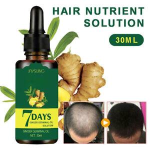 Regrow 7 Day Ginger Germinal Hair Growth Serum -Hair Nourish Oil Loss Prevention