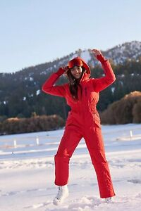 NEW $498 Free People All Prepped Ski Suit Size Large Waterproof