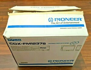 NEW Pioneer Model CDX-FM1237S 12 Disc Player - Multi Disc Car System