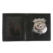 Police Officer Wallet  Badge Private Detective Security Guard Wallet Costume Ace