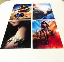 4pc Wonder Woman Movie 2017 Mirror Surface Postcard Promo Card Poster Card B02