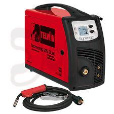 TELWIN TECHNOMIG 215 DUAL WIG MIG/MAG Elektrode Schutzgas Schweißgerät Inverter