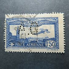 1930-31 FRANCE AIRPOST Sc C6b WITH PERF ''AG'' Rare