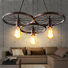Large Chandelier Lighting Bar Vintage Pendant Light Kitchen Lamp Ceiling Lights