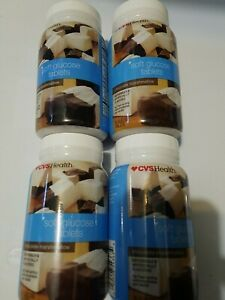 CVS Soft Glucose Tablets 36 Glucose Chocolate Marshmallow Tab 144 TOt EXP 6/21+