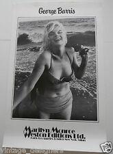 Marilyn Monroe George Barris Poster 'Feelin the surf' Santa Monica Beach in 1962