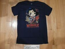 FUNKO POP! TEES DC COLLECTION BY JIM LEE WONDER WOMAN TEE SHIRT SIZE MEDIUM