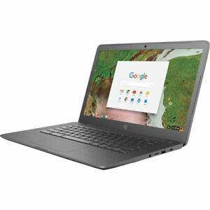 HP Chromebook Intel Celeron N3350 Dual-core  1.10 GHz  4GB 32GB  Chrome OS