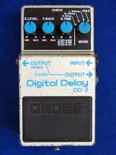 VINTAGE RARE! MIJ Blue Label BOSS DD-2 Digital Delay GUITAR EFFECT Made in Japan