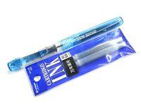 PG Pilot FCP-PXS Pluminix Rainbow Fountain Pen Fine Nib 1 Blue cartridge
