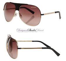 Christian Dior Sunglasses Black Gold Oval MyLadyDior 8 VN0 CD Womens