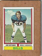 1974 Topps Football Jim Cheyunski Buffalo Bills #53 NICE