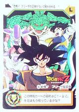 Carte GT Dragon Ball Heroes dbz RARE TBE bandai 1995 JAPAN original 7 n°504