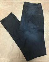Rock & Republic Berlin Skinny Slim Women's Dark Wash Blue Jeans Sz 8 M