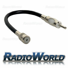 Car Radio/Stereo Iso To Din Aerial Ariel Arial Antenna Extension Adaptor