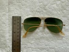 Vintage Bausch + Lomb - Ray Ban - 40s/50s - Green Sunglasses - Aviator Style USA