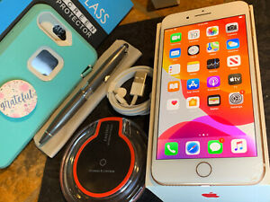 Apple iPhone 8 Plus (64gb) Verizon World-Unlocked (A1897) Gold: OtterBox {iOS13}