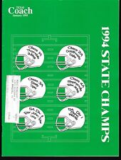 1995 Texas Coach Magazine January State Champs 19284