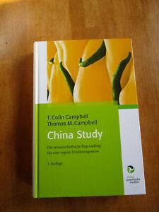 Campbell:China Study,gebund.Buch,2.Auflage 2012,423 S.