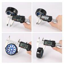 4Pcs Wheel Rim Hard Plastic Drift Tires for 1/10 RC On Road Car Tamiya HSP AZ