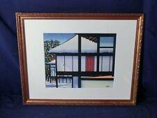 Vintage KARHU CLIFTON Katsura Imperial Villa Ukiyo-e Nishiki-e Woodblock Print