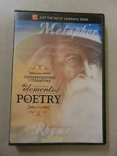 Just the Facts - Understanding Literature: The Elements of Poetry (DVD, 2008)