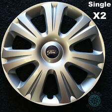 """Ford Focus 16"""" Genuine Hubcaps Reconditioned x2 (TWO Singles Only)"""