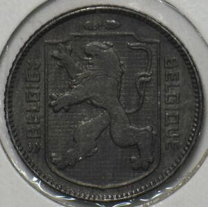 Belgium 1944 Franc Lion animal 297317 combine shipping