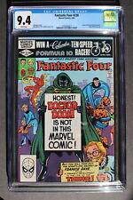 FANTASTIC FOUR #238 Origin 1st Frankie Raye Plasma Powers Joins FF 1982 CGC 9.4