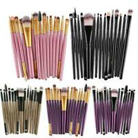 20Pc Professional Make Up Brushes Set Kit Foundation Brushes Makeup Tool Set Kit