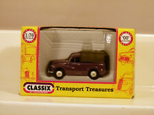 CLASSIX DIECAST - REF.NO.EM76634 MORRIS MINOR PICK UP WITH REAR COVER ROSE TAUPE