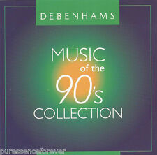 V/A - Music Of The 90's Collection (UK Debenhams Stores 8 Tk CD Album)