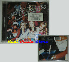 CD ALL SAINTS Saints & Sinners 2000 SIGILLATO GERMANY 8573 85298 2 lp mc dvd vhs