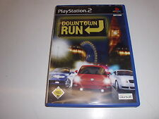 PLAYSTATION 2 ps2 DOWNTOWN RUN