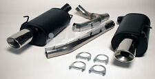 VOLVO 850 V70 Turbo 4wd Jetex Performance Exhaust Back Boxes Twin Oval Tails