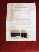 ACOUSTIC RESEARCH AR-3 NEW CROSSOVER CAPACITOR, SERIAL NUMBER 70229 AND ABOVE