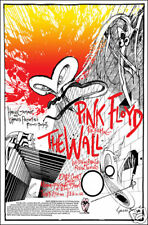 PINK FLOYD 1980  London The Wall Concert Poster