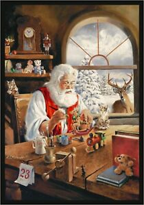 Milliken Holiday Santa's Gift Area Rug