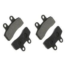 4 Pieces Front Ceramic Brake Pads Caliper for 110cc/125CC Quad Dirt/Pit Bike